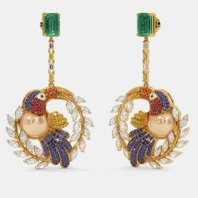 The Toucan Drop Earrings