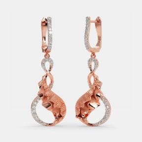The Viklet Drop Earrings