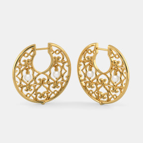 The Echo Hoop Earrings