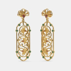 The Gul bahaar Drop Earrings