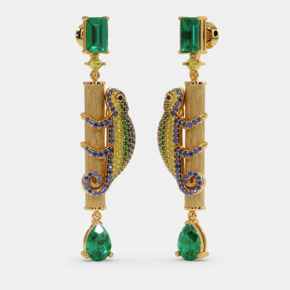 The Chameleon Drop Earrings