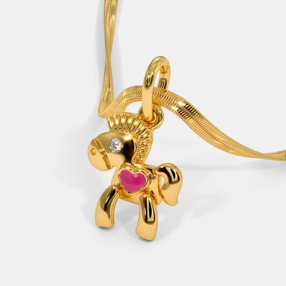 The Best Pony Kids Pendant