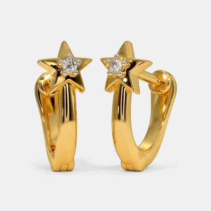 The Maka Multi Pierced Hoop Earrings