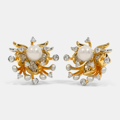 The Floracion Stud Earrings