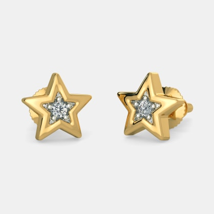 The Wishing Star Earrings For Kids