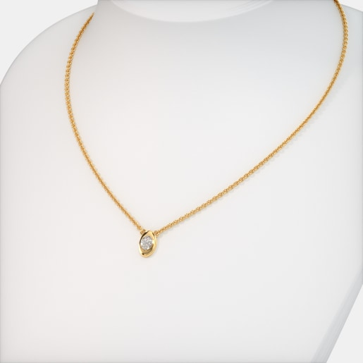 The Ilias Pave Necklace