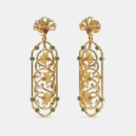 The Gul bahaar Drop Earrings