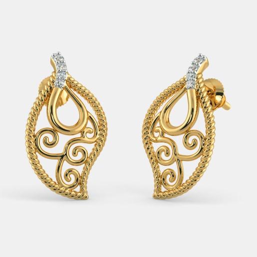 The Blanche Stud Earrings
