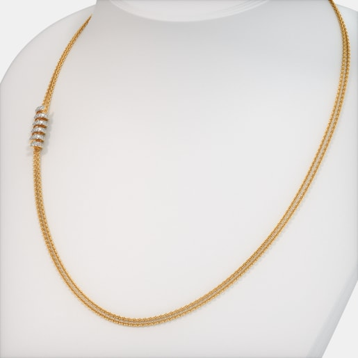 The Elegant Helical Necklace