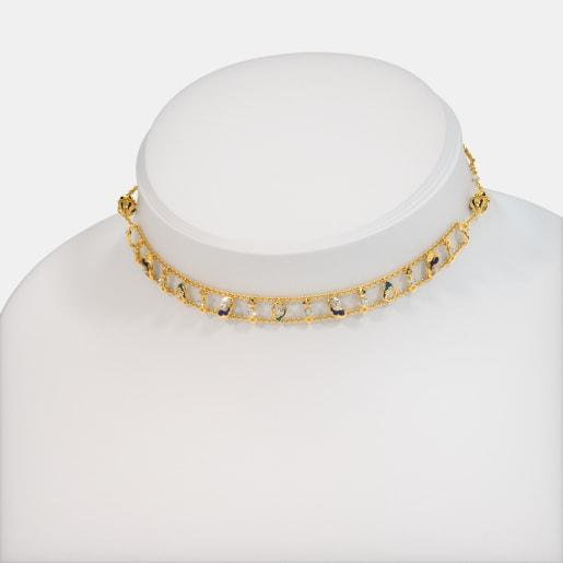 The Barlin Convertible Choker Necklace