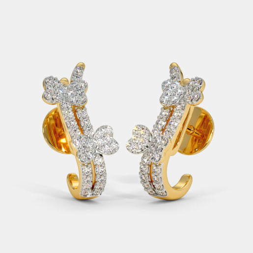 The Kuvam J Hoop Earrings