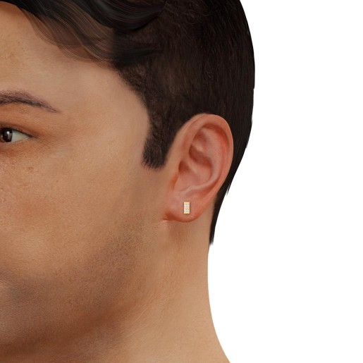 The Nouveau Earring For Him
