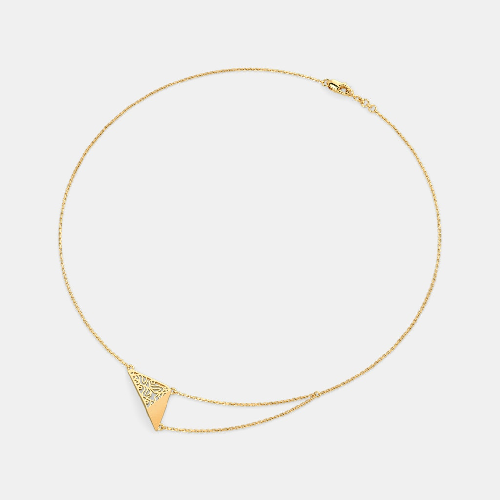 The Triquette Chain Necklace