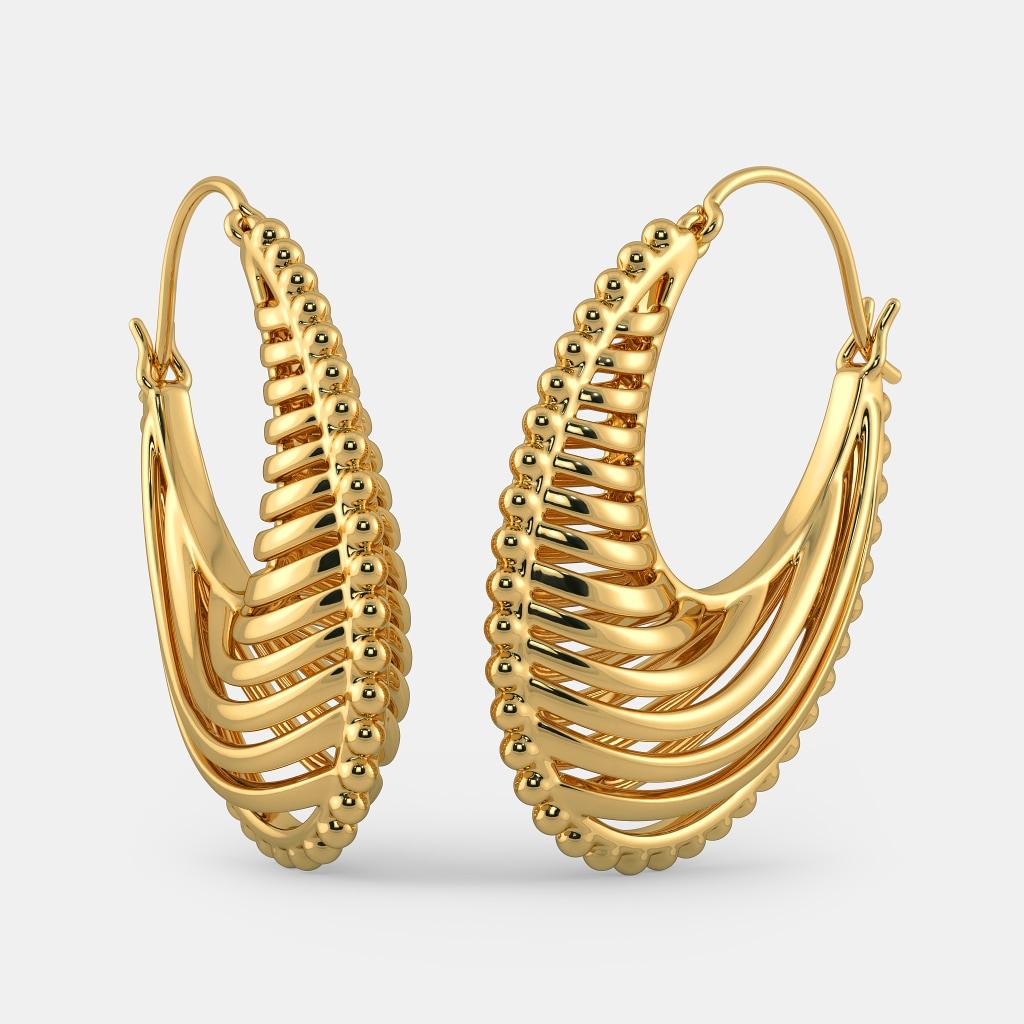 The Kim Hoop Earrings