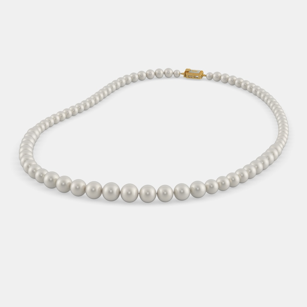 The Elegancia Pearl Necklace