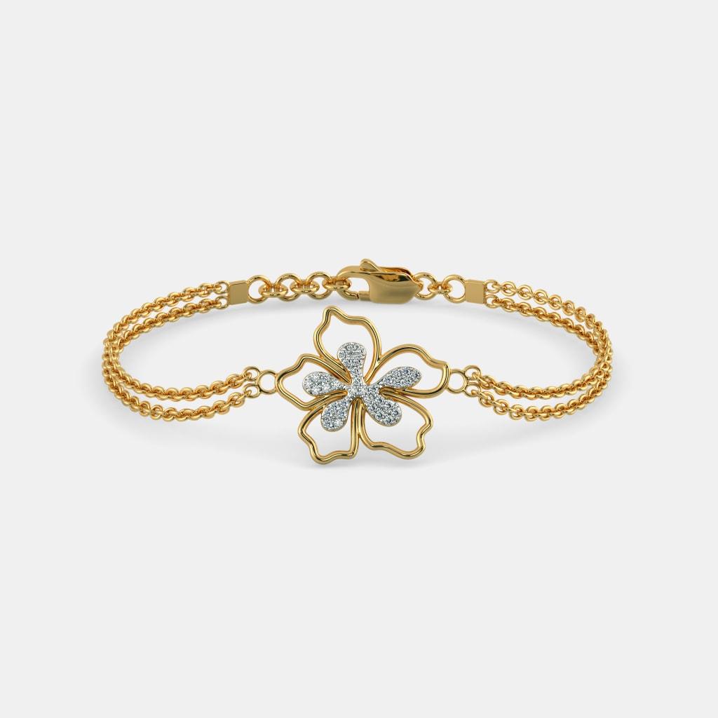 The Tranquil Hibiscus Bracelet