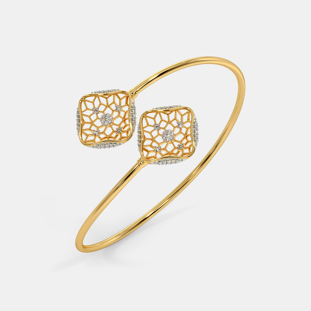 9707413ce0 The Shein Twister Bangle | BlueStone.com