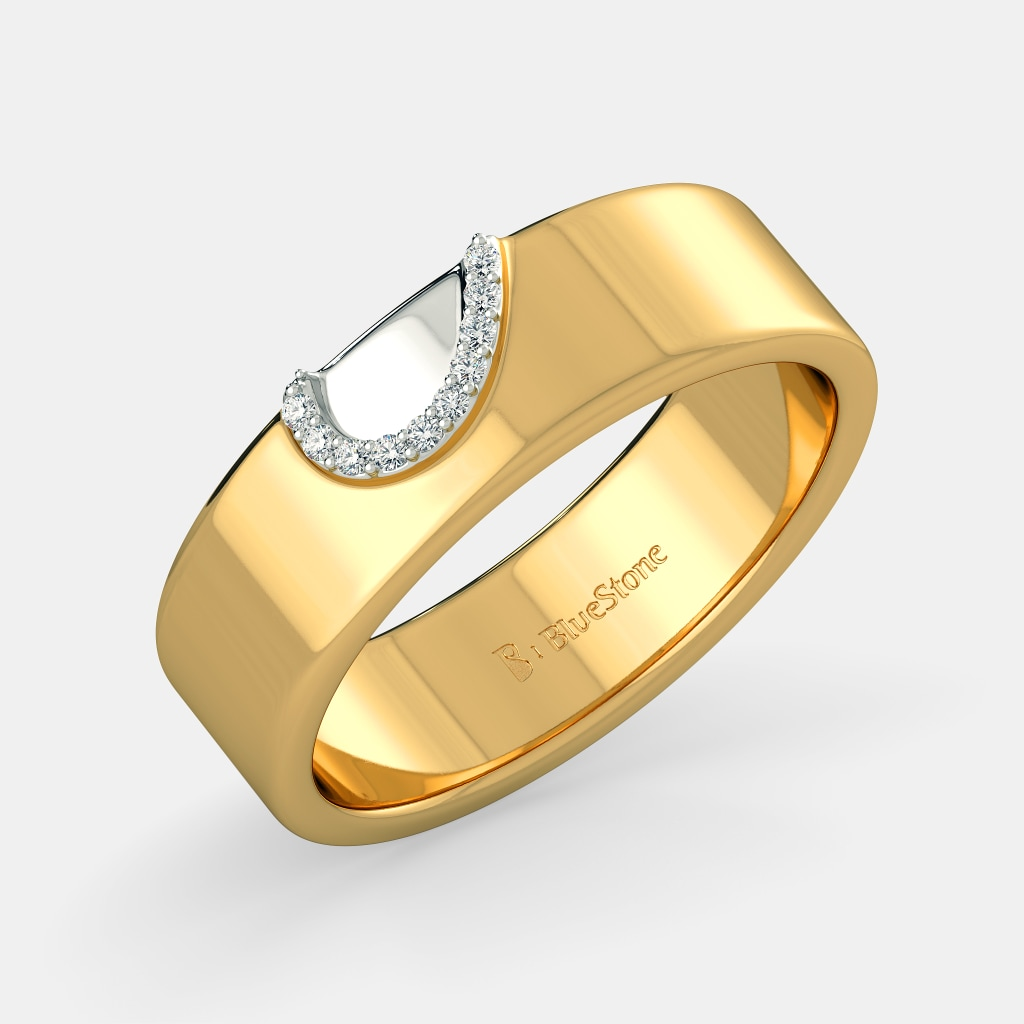 35ba9b0326 The Profound Love Band for Him | BlueStone.com