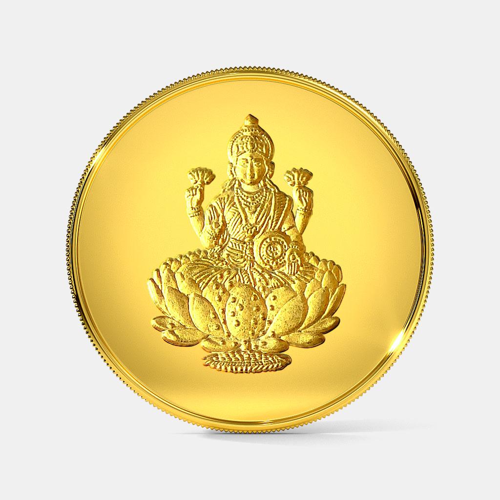 2 gram 24 KT Lakshmi Gold Coin