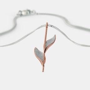 The Cilesi Roseate Leaf Pendant