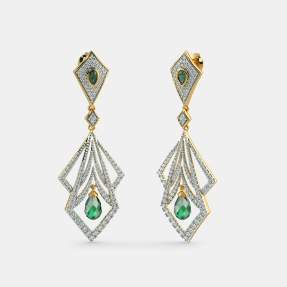 The Mandana Drop Earrings