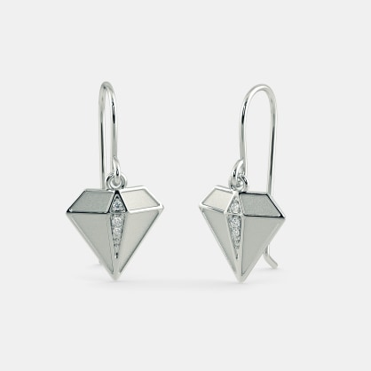 The Diamond Drop Earrings