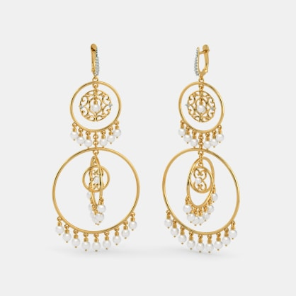 The B Iconic Superstar Chandelier Earrings