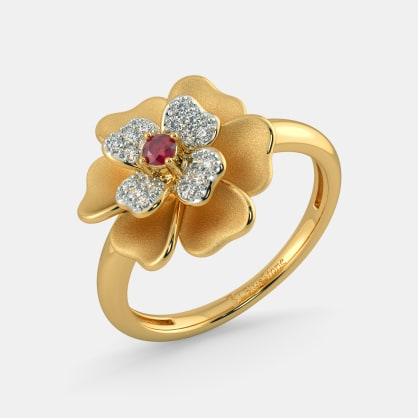 The Dainty Floral Ring