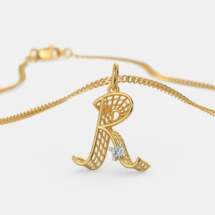 The Ravishing R Pendant