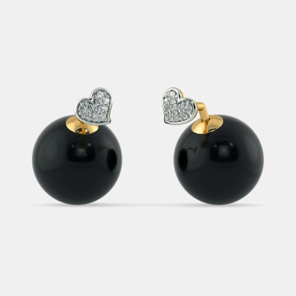 The Zoya Onyx Earrings