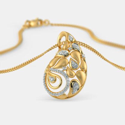 The Eshani Paisley Pendant