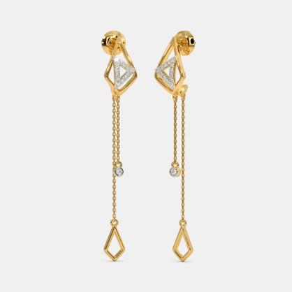 The Saniyah Dangler Earrings