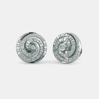 The Lady Moonlight Stud Earrings