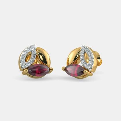 The Trivalle Stud Earrings