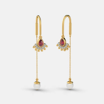 The Aureate Sui Dhaga Earrings