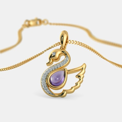 The Sightly Swan Pendant For Kids