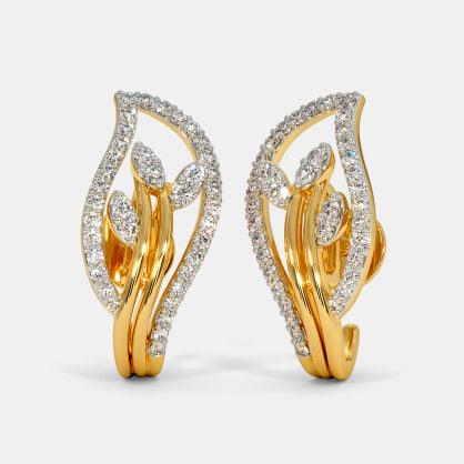 The Giva J Hoop Earrings
