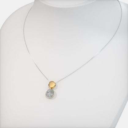 The Luminous Disc Necklace