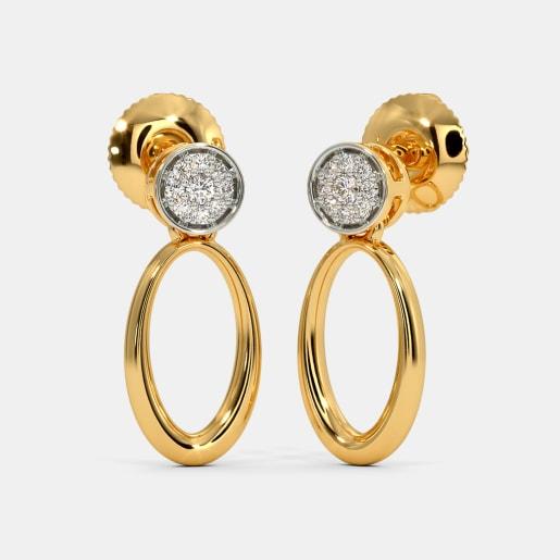 The Ilsa Pave Drops Earrings