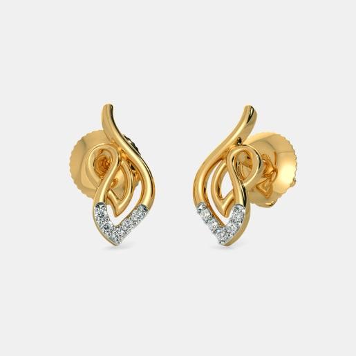 23e538425 Five Stone Earrings - Buy Five Stone Earring Designs Online in India ...