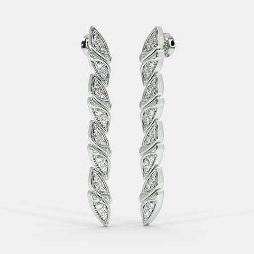 The Hendrika Stiletto Drop Earrings