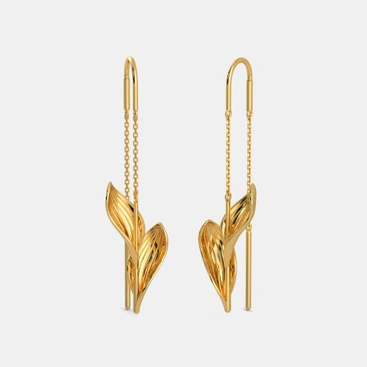 The Verdant Sui Dhaga Earrings