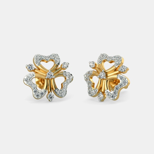 2d90b7262 Buy 400+ Diamond Studs Earring Designs Online in India 2019 ...