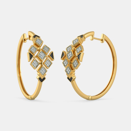 The Striking Hoop Earrings