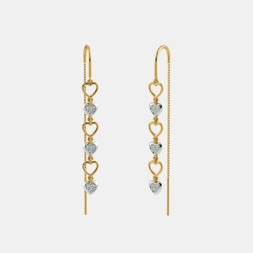 The Joyous Heart Drop Earrings
