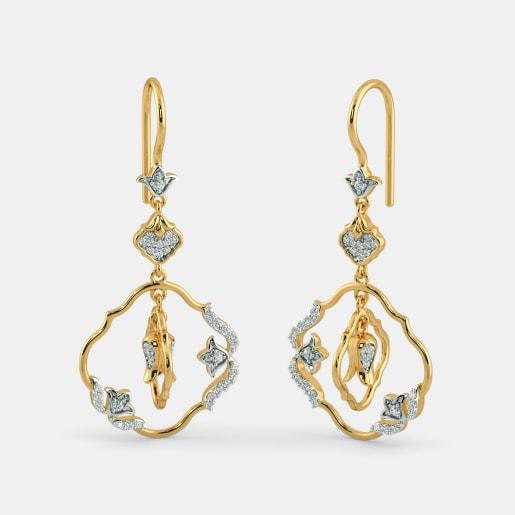 The Perennial Floral Drop Earrings