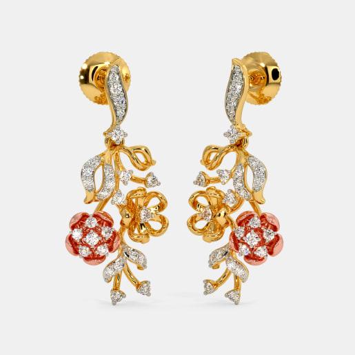 The Gardenia Drop Earrings