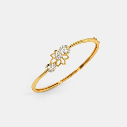 The Jhanvi Oval Bangle