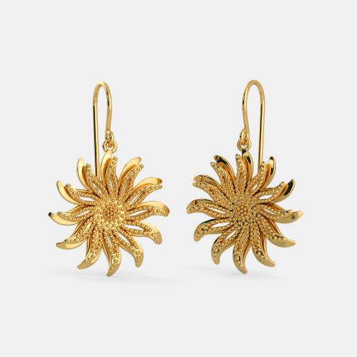 ce821e890 Plain Gold Earrings - Buy 250+ Plain Gold Earring Designs Online in ...