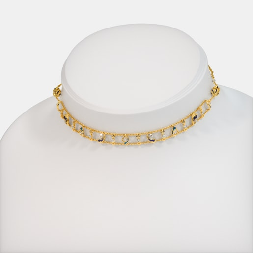 The Barlin Convertible Choker Necklace